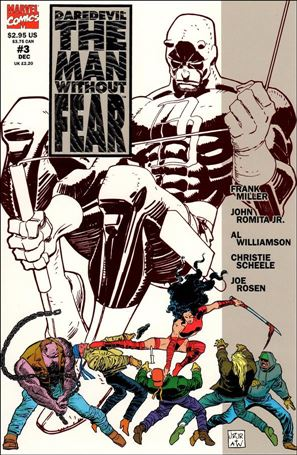 Daredevil The Man Without Fear 3-A