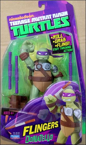 Teenage Mutant Ninja Turtles (2012) Flingers Donatello by Playmates