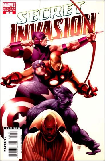 Secret Invasion 2-B by Marvel