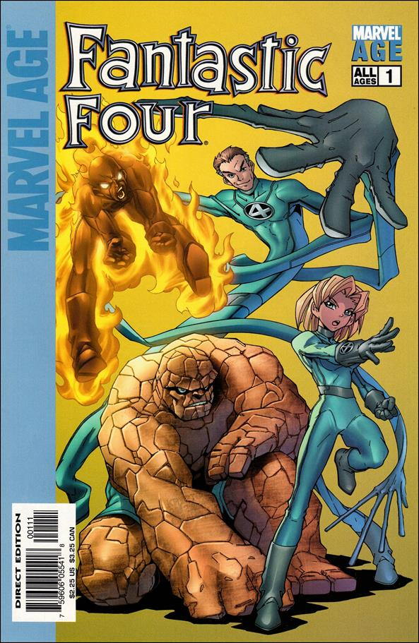 Marvel Age Fantastic Four 1-A by Marvel