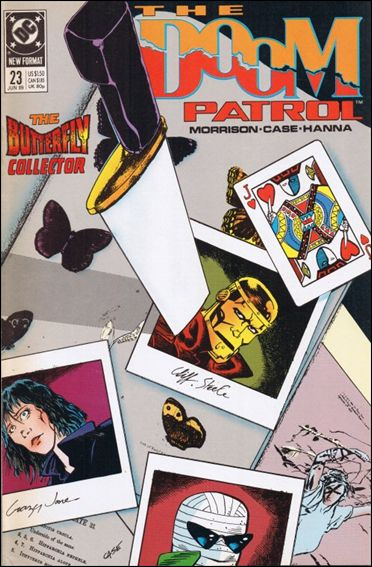 Doom Patrol (1987) 23-A by Vertigo