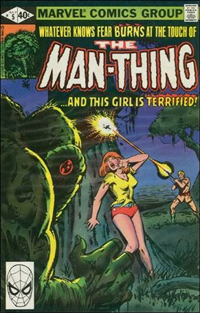Man-Thing (1979) 5-A