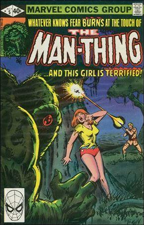 Man-Thing (1979) 5-A