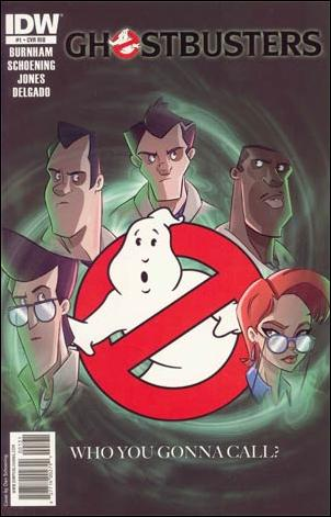 Ghostbusters (2011) 1-D by IDW