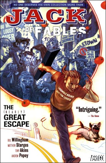 Jack of Fables 1-A by Vertigo
