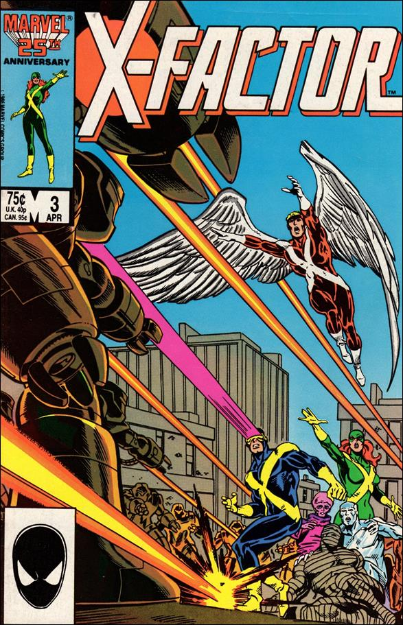 X-Factor (1986) 3-A by Marvel