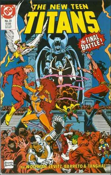 New Teen Titans (1984) 31-A by DC