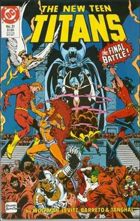 New Teen Titans (1984) 31-A