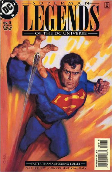 Legends of the DC Universe 1-A by DC