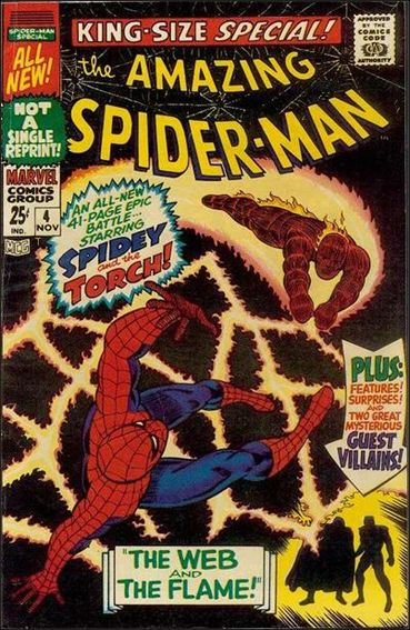 Amazing Spider-Man Annual (1964) 4-A by Marvel