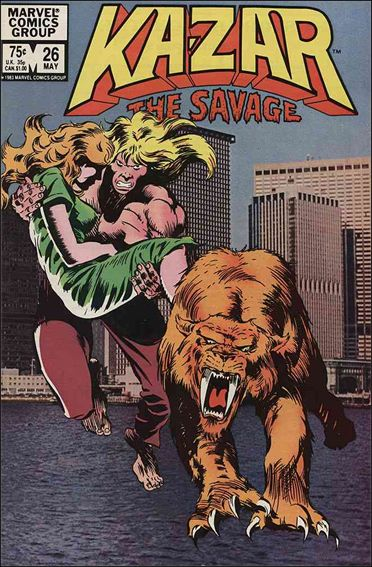 Ka-Zar the Savage 26-A by Marvel