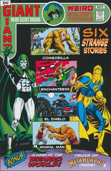 Weird Secret Origins nn-A by DC