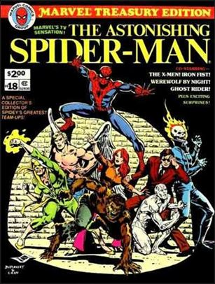 Marvel Treasury Edition 18-A