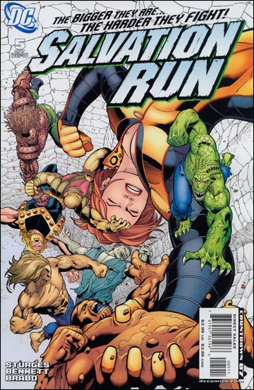 Salvation Run 5-A by DC