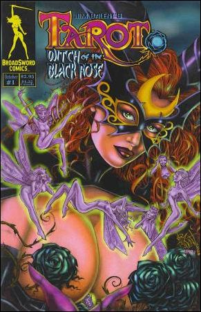 Tarot: Witch of the Black Rose 1-E by BroadSword Comics