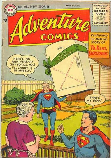Adventure Comics (1938) 224-A by DC