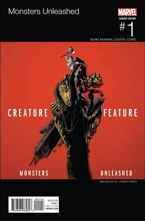 Monsters Unleashed 1-E