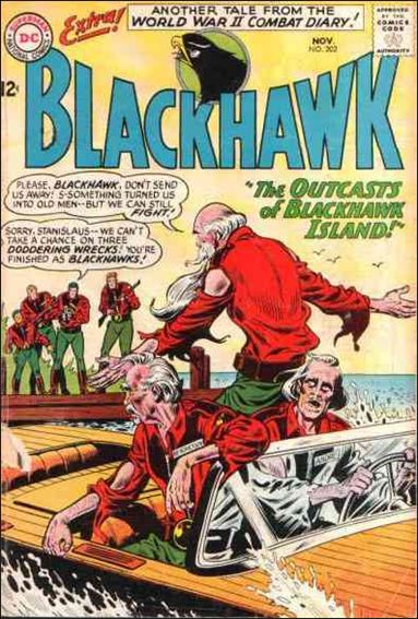 Blackhawk (1944) 202-A by DC