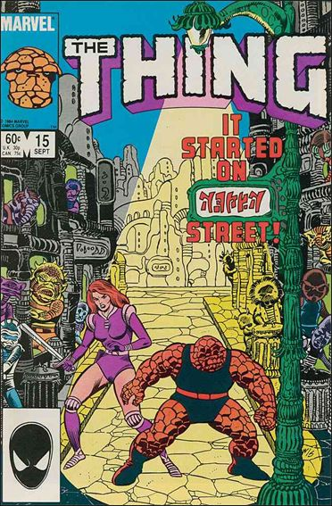 Thing (1983) 15-A by Marvel
