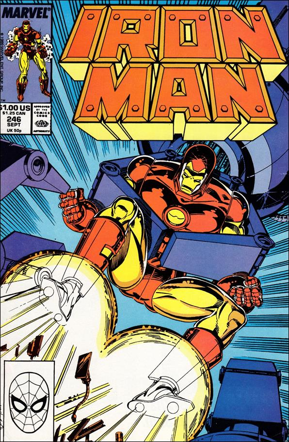 Iron Man (1968) 246-A by Marvel