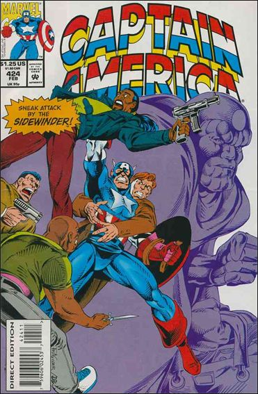 Captain America (1968) 424-A by Marvel