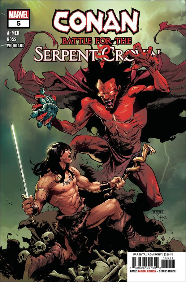 Conan: Battle for the Serpent Crown 5-A by Marvel