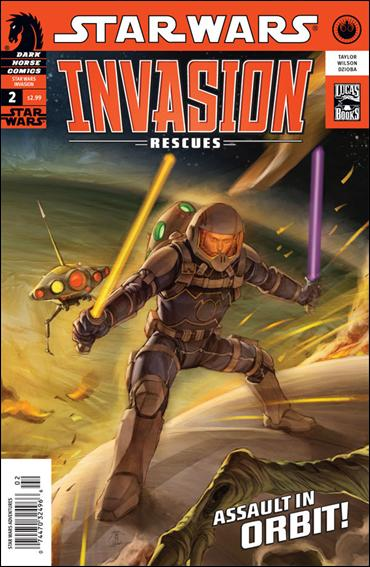 Star Wars: Invasion - Rescues 2-A by Dark Horse