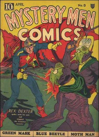 Mystery Men Comics 9-A by Fox