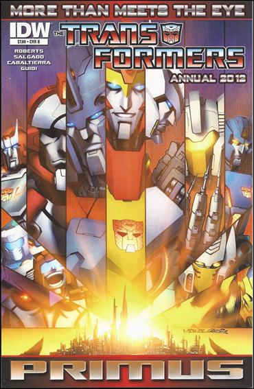 Transformers: More Than Meets the Eye Annual 2012-B by IDW