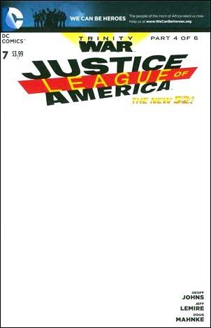Justice League of America (2013)  7-F by DC