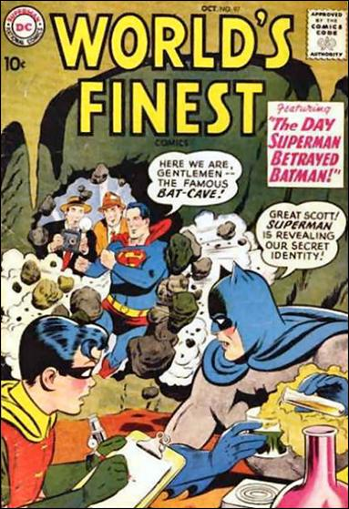 World's Finest Comics 97-A by DC