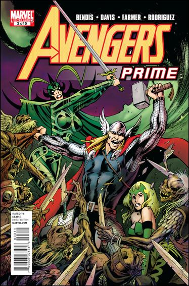 Avengers Prime 3-A by Marvel