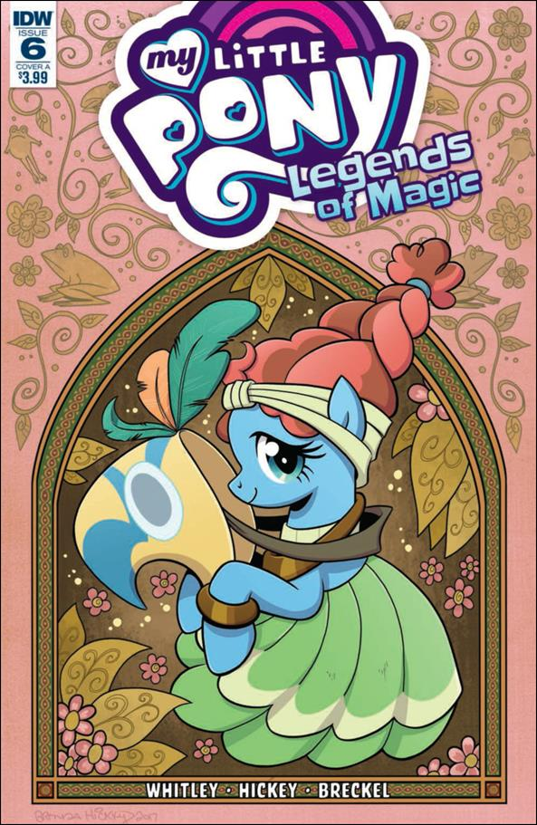 My Little Pony: Legends of Magic 6-A by IDW