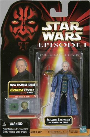 "Star Wars: Episode I 3 3/4"" Basic Action Figures Senator Palpatine (No Logos) by Hasbro"