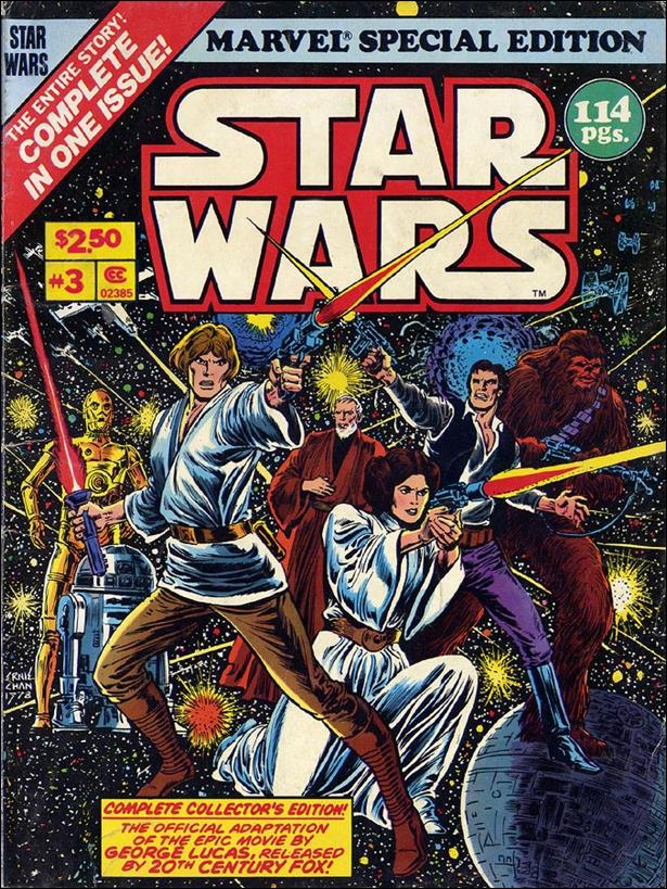Marvel Special Edition featuring Star Wars 3-A by Marvel