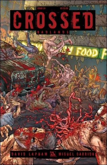 Crossed: Badlands 24-B by Avatar Press