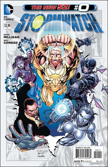 StormWatch (2011) 0-A by DC