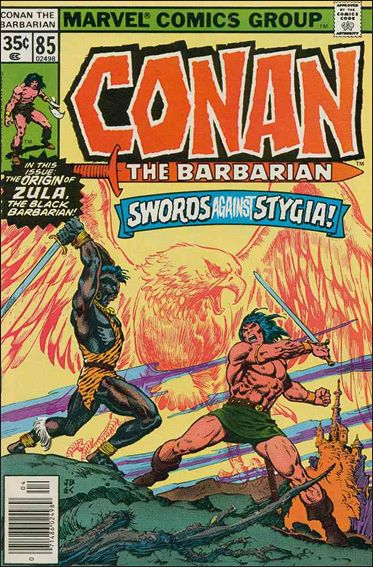 Conan the Barbarian (1970) 85-A by Marvel