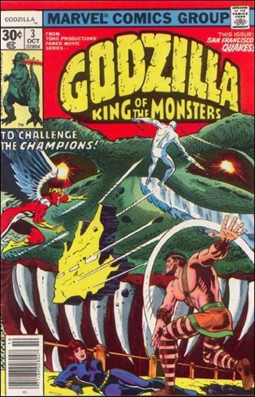 Godzilla (1977) 3-A by Marvel