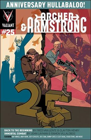 Archer & Armstrong (2012) 25-B