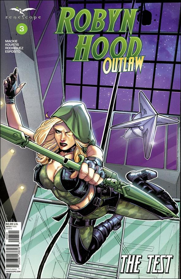 Robyn Hood: Outlaw 3-D by Zenescope Entertainment