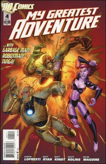 My Greatest Adventure (2011) 4-A by DC