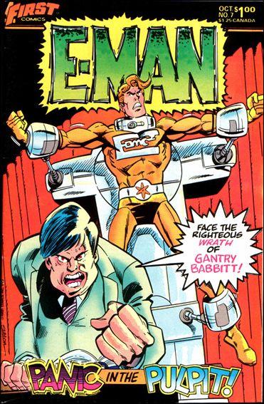 E-Man (1983) 7-A by First