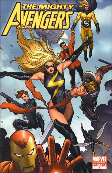 Mighty Avengers (2007) 1-C by Marvel
