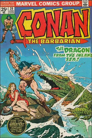 Conan the Barbarian (1970) 39-A by Marvel