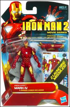 Iron Man 2 Iron Man - Mark IV (Movie Series) by Hasbro