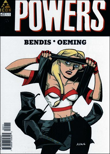 Powers (2004) 22-A by Icon