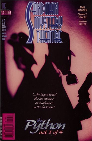 Sandman Mystery Theatre 35-A by Vertigo