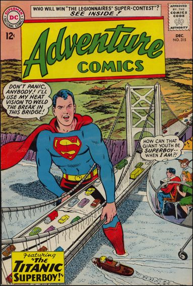Adventure Comics (1938) 315-A by DC