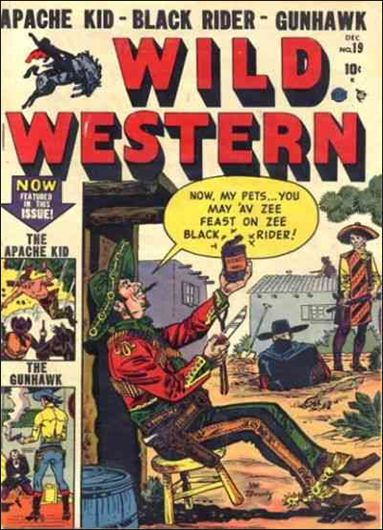 Wild Western 19-A by Marvel